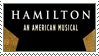 H: Hamilton Logo Star Static Stamp by randomkiwibirds