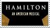 H: Hamilton Logo Star Static Stamp by randomkiwibirds