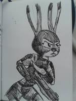 Mass Effect Judy by Rockhoppr3