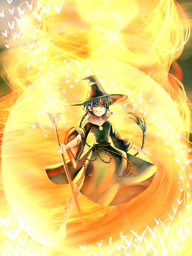 Magician of Magnoshutatt by Inupii