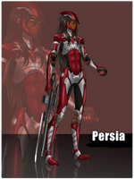 MGR!AU: Persia by Inupii