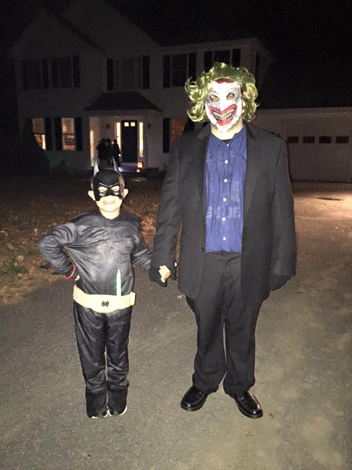 My Nephew And I Halloween 2015 by Geroge86