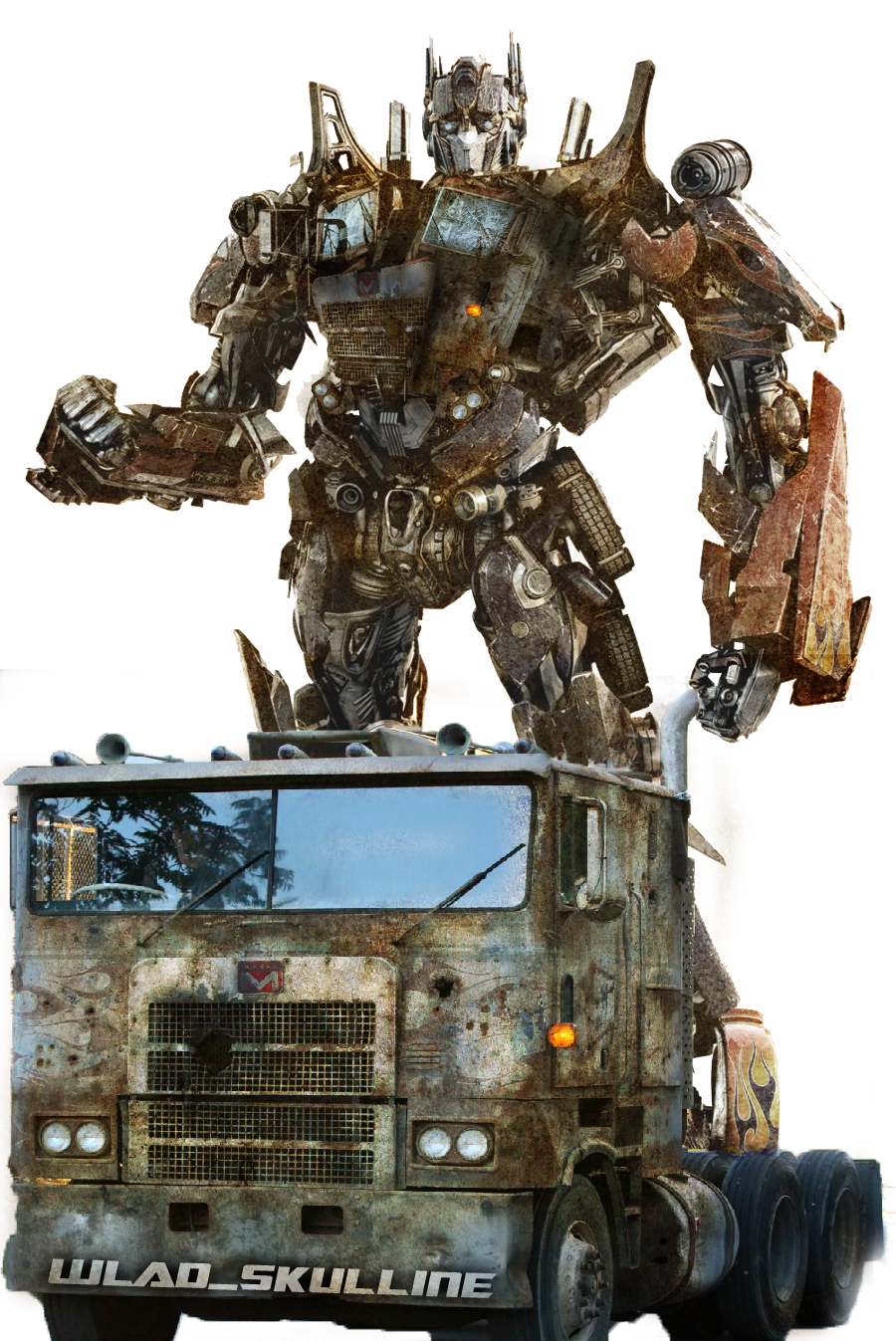 Transformers 4 Concept Art Optimus Prime
