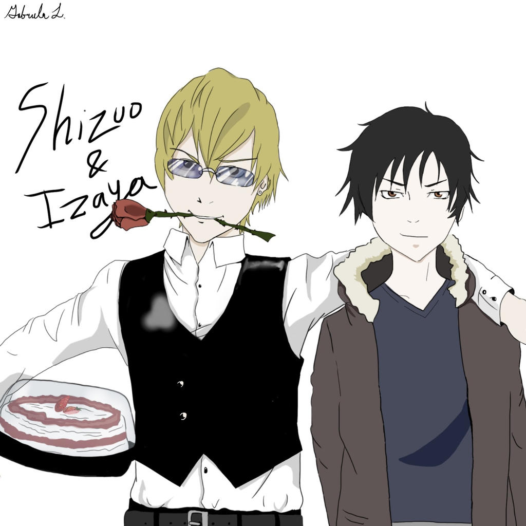 Durarara: Izaya x Shizuo by FLCLeureka7 on DeviantArt