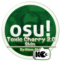 Toxic Cherry Skin preview (OSU SKIN VIDEO) by Kimo-Chi