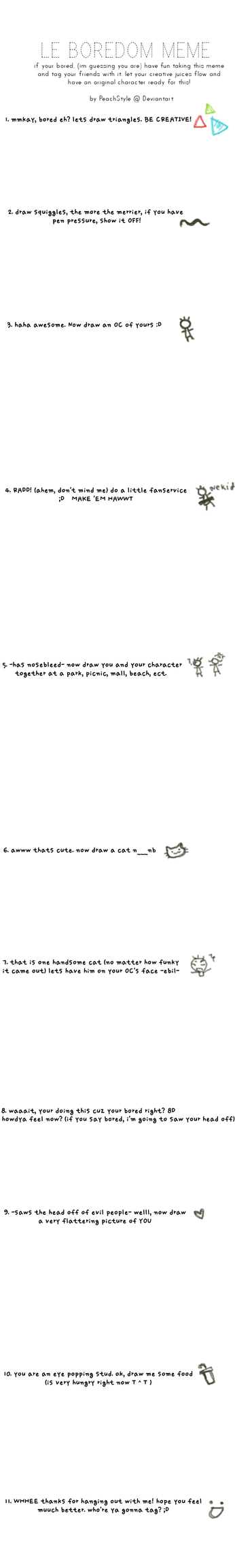 Boredom Meme by PeachStyle