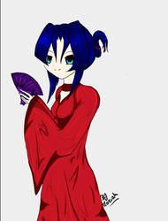 Kimono girl by s2Mariahs2