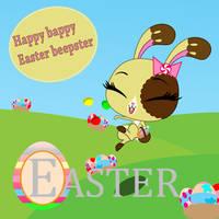 Happy Easter! by MotoNeko
