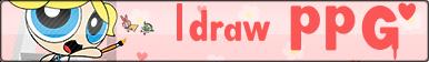 I draw PPG button by MotoNeko