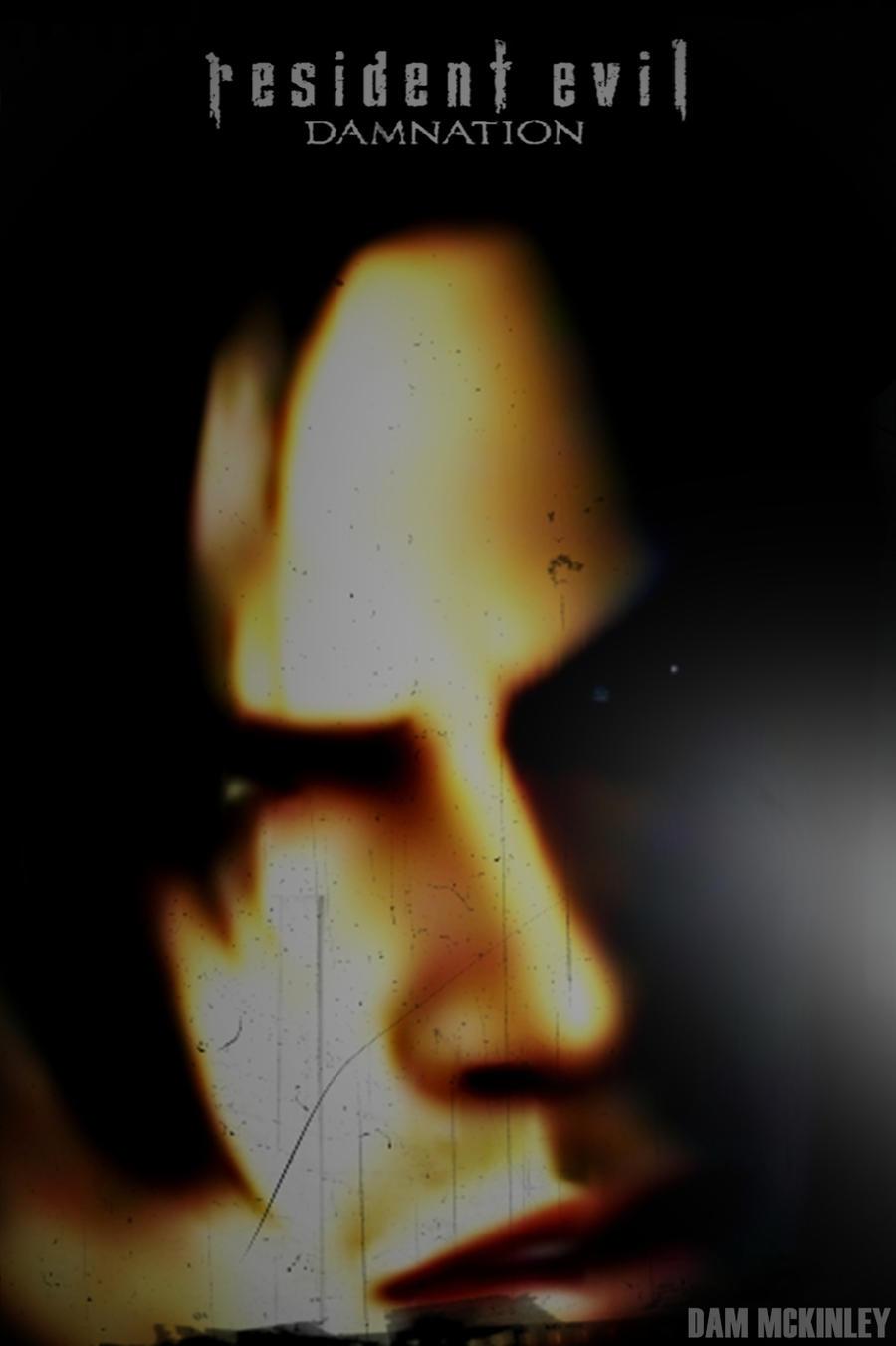 Resident Evil Damnation Leon Poster By Dammckinley On Deviantart