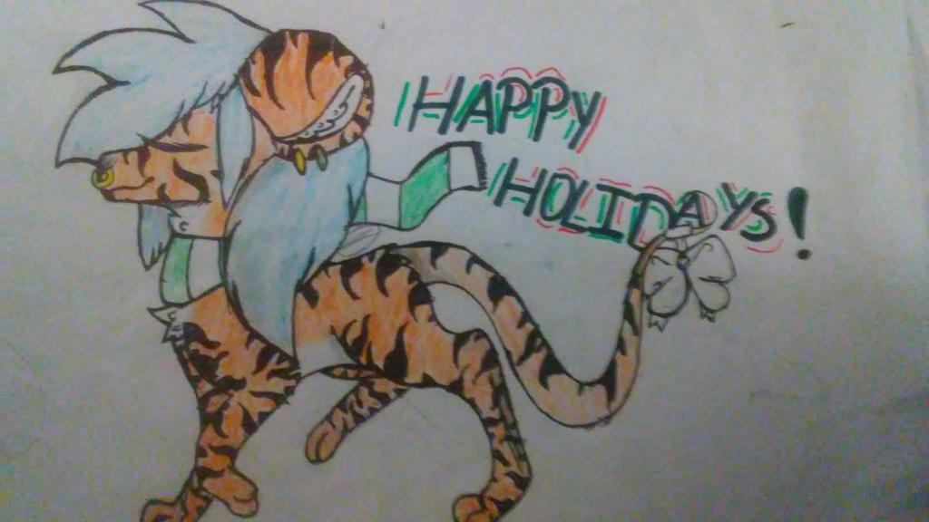 happy Holidays! Transformice fan art* by JinxTheBlackCat17609