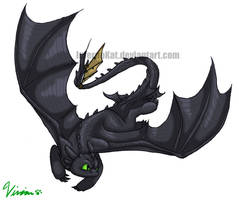 Toothless by InfernoKat