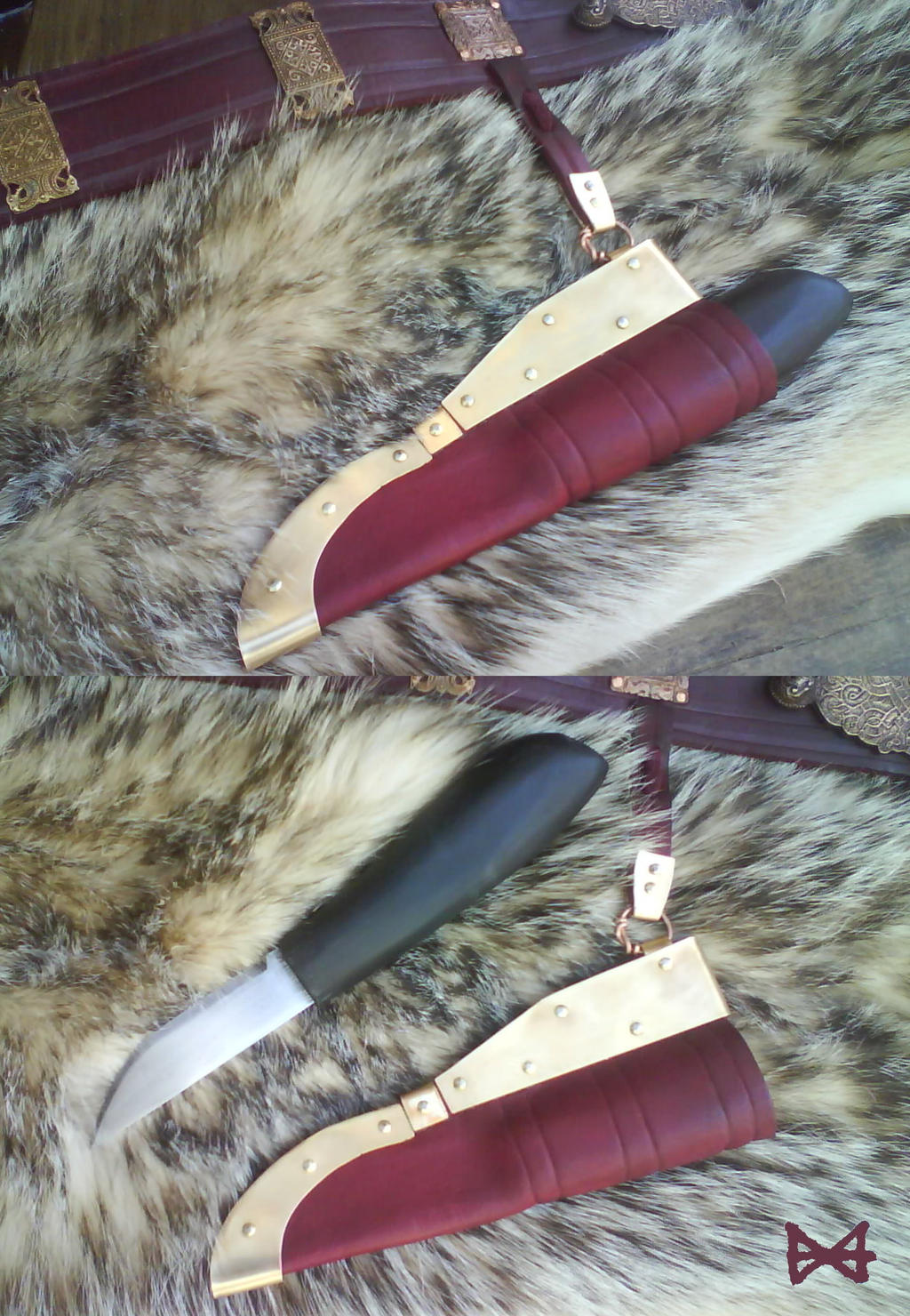 Viking style Knife by Meredyth