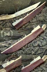 Anglo-Norse Seax and Scabbard by Meredyth