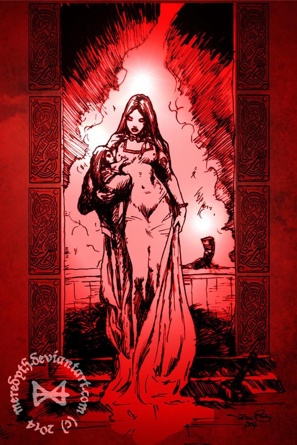 A Nativity in Asgard by Meredyth