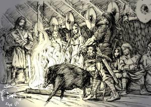 The Yule Oath (Ink Version)