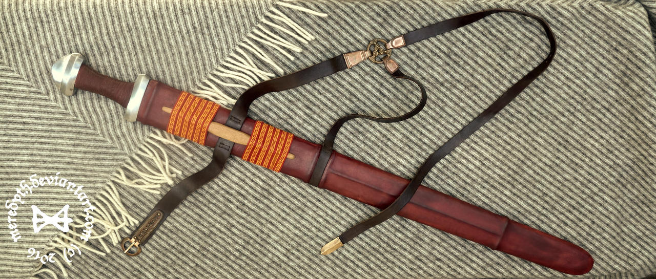Viking Sword Scabbard by Meredyth