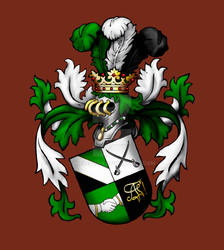 Akademische Fechterschaft Coat of Arms