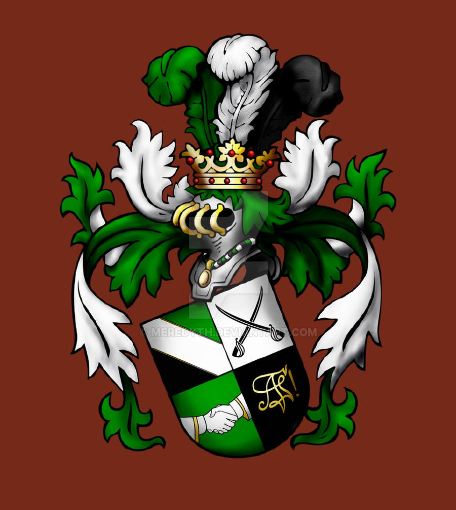 Akademische Fechterschaft Coat of Arms by Meredyth