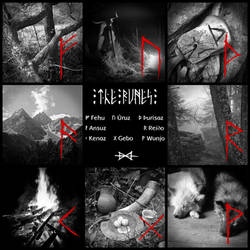 The Elder Futhark Runes - The First Aett