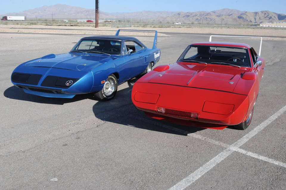Plymouth Superbird and Dodge Daytona by StephenBarlow on DeviantArt