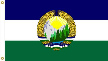 Oregon State Flag Proposal No. 8b By: S. R. Barlow