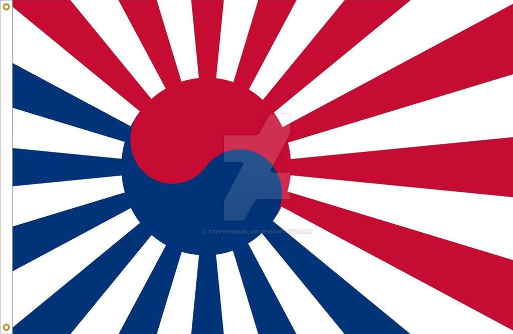 South Korea National Flag Variant By Stephenbarlow On Deviantart