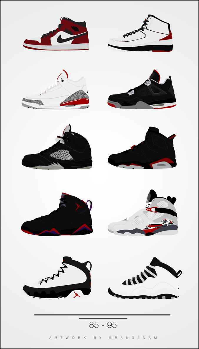 air jordan shoes vector