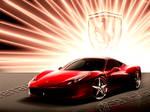 458 Italia In The Light