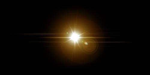 Lens flare by romscuderia