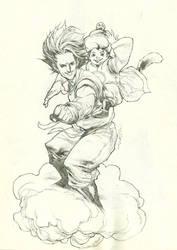 Dragon Ball - Sketch by fwatanabe