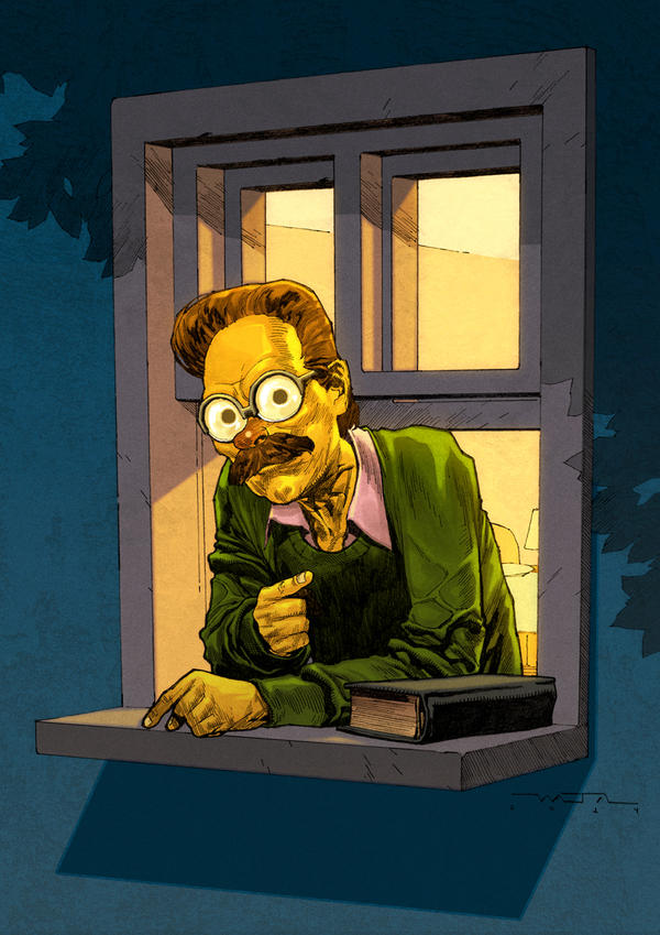 Ned Flanders By Fwatanabe On Deviantart