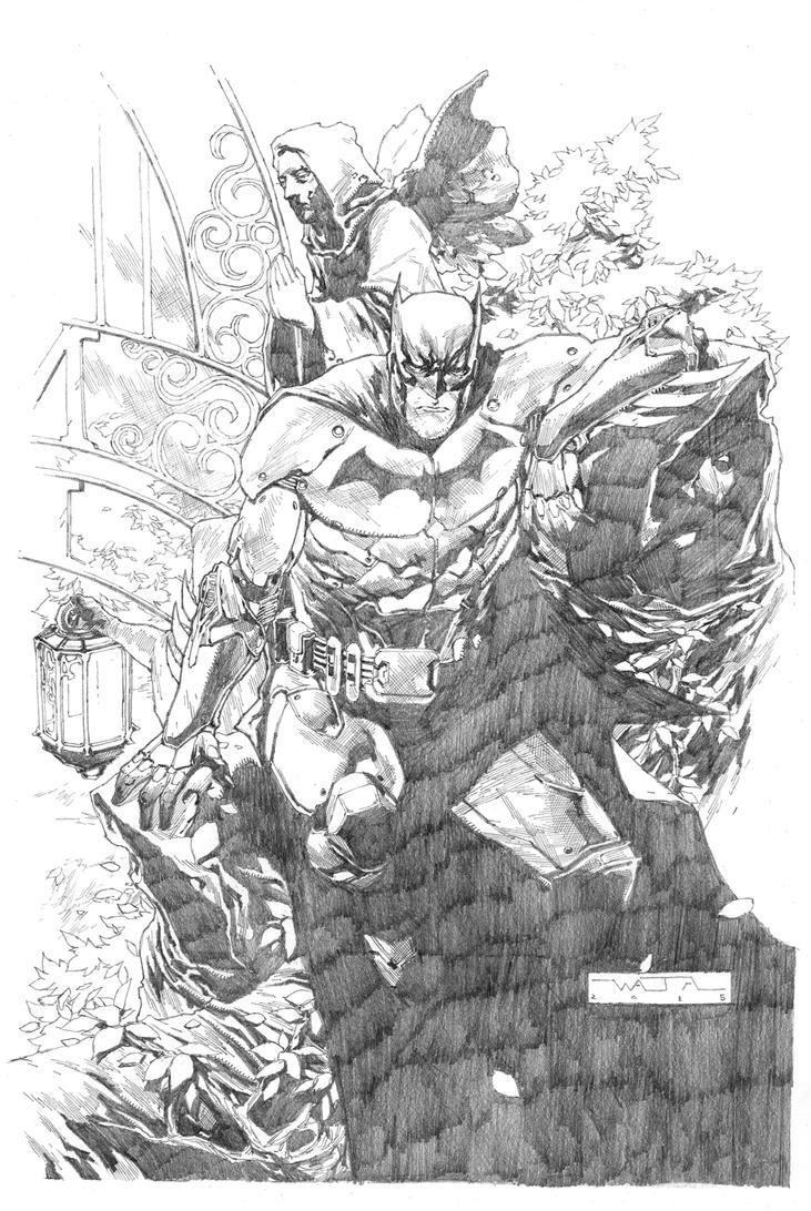 BATMAN - ARKHAM ASYLUM by fwatanabe