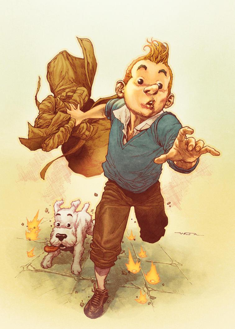 Tintin by fwatanabe