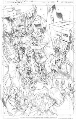 Cyborg #11 - Page 01