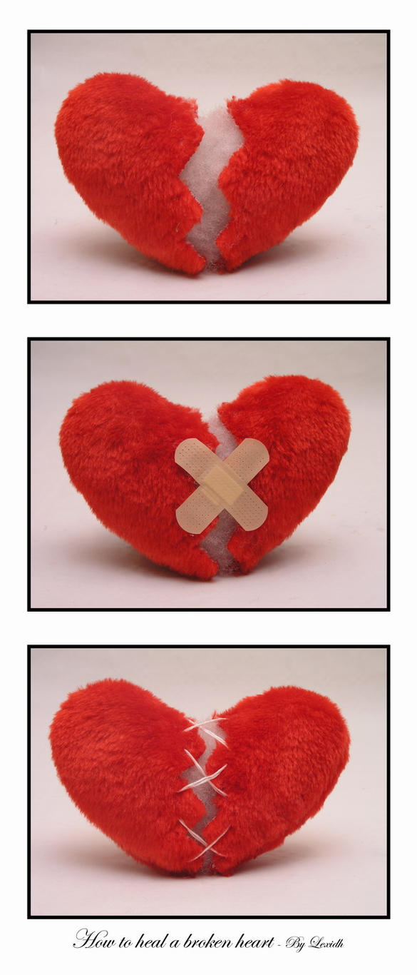 How to heal a broken heart by lexidh