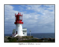Lighthouse at Lindesnes by lexidh