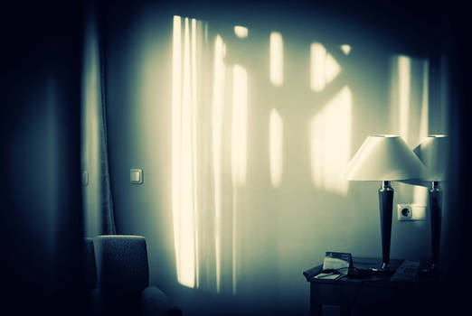 sunlight in the hotel