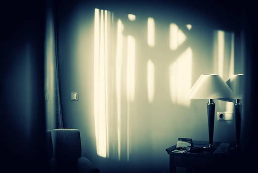 sunlight in the hotel