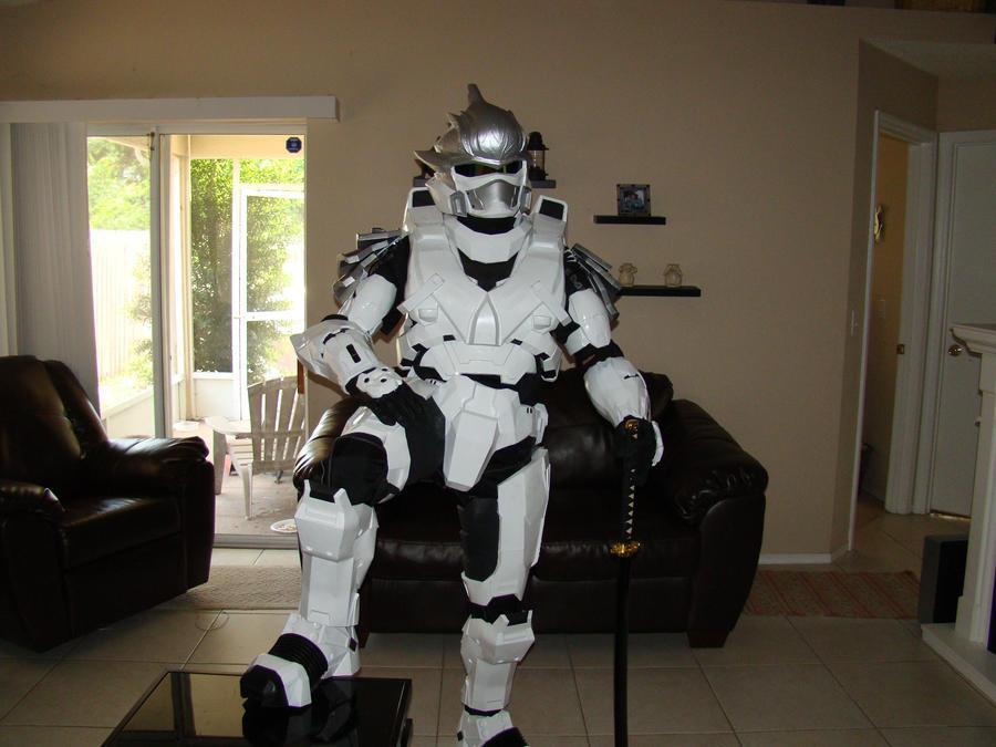 Halo Hayabusa armor by Hyperballistik