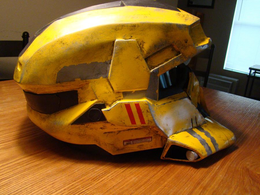 Halo Reach EOD helmet by Hyperballistik
