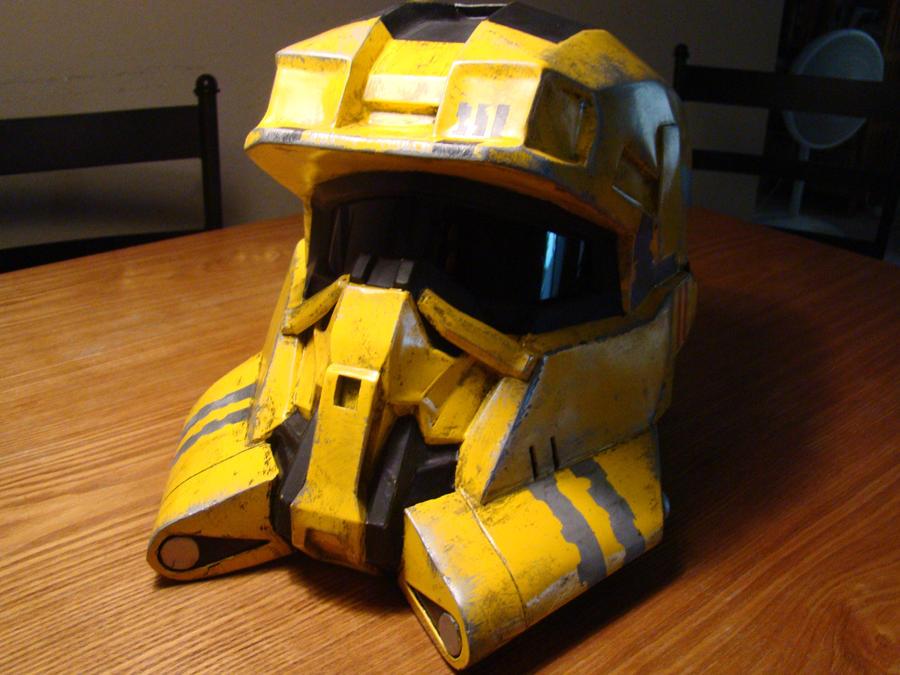 Halo Reach EOD helmet front vi by Hyperballistik