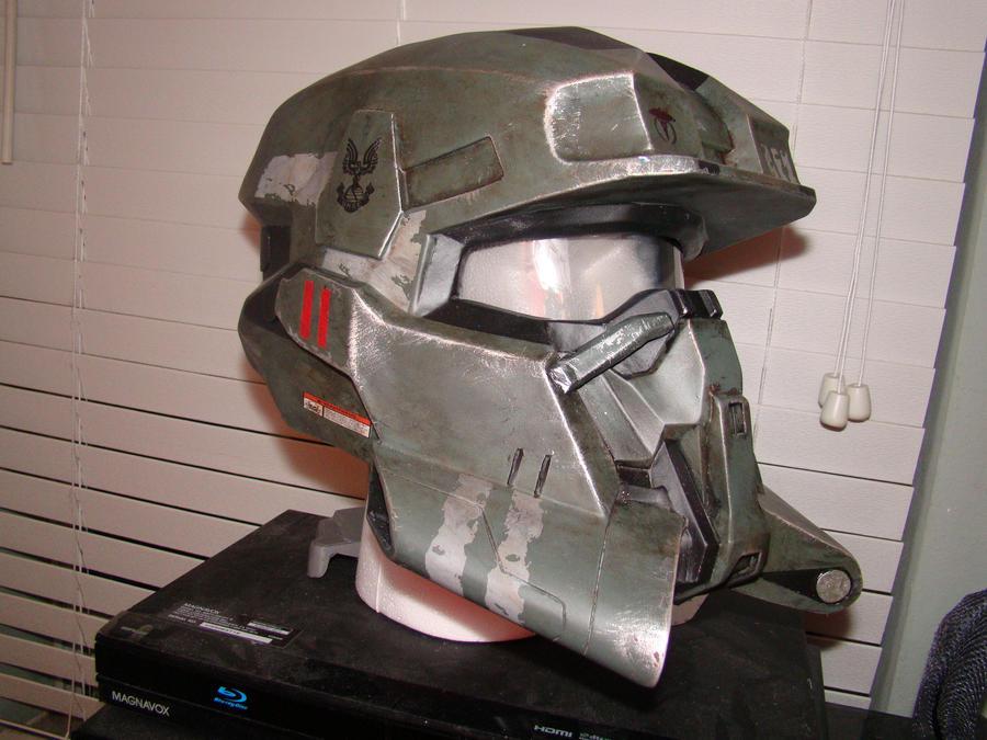 deviantART: More Like Halo Reach EOD Helmet Green 1 by Hyperballistik
