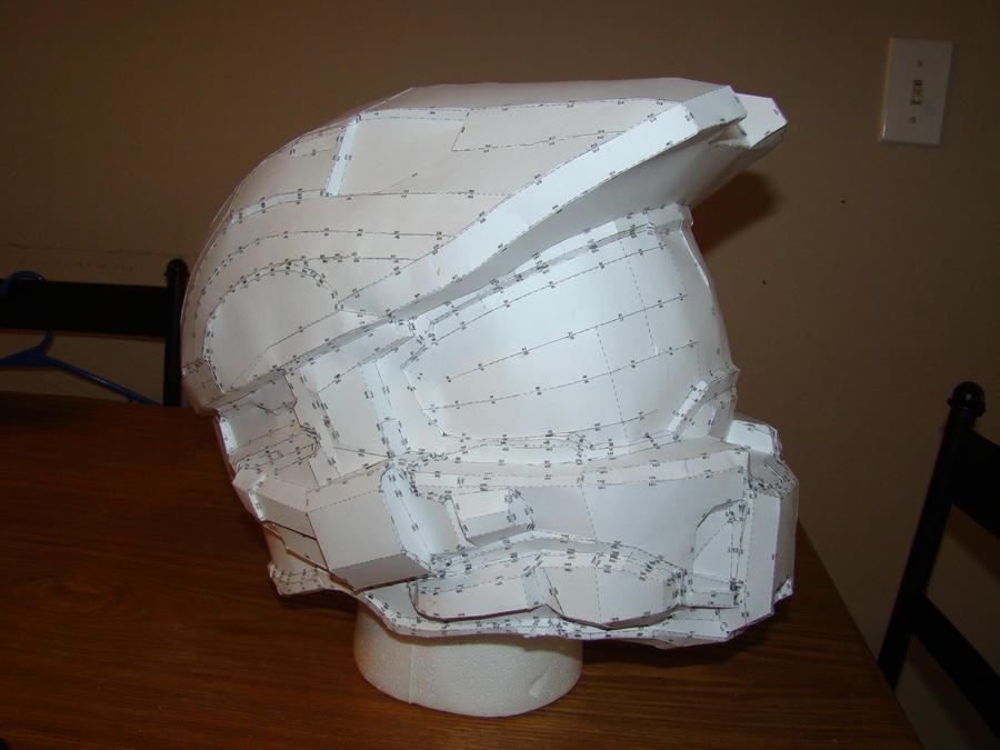 Pepakura Halo Helmet Blueprints Related Keywords ...