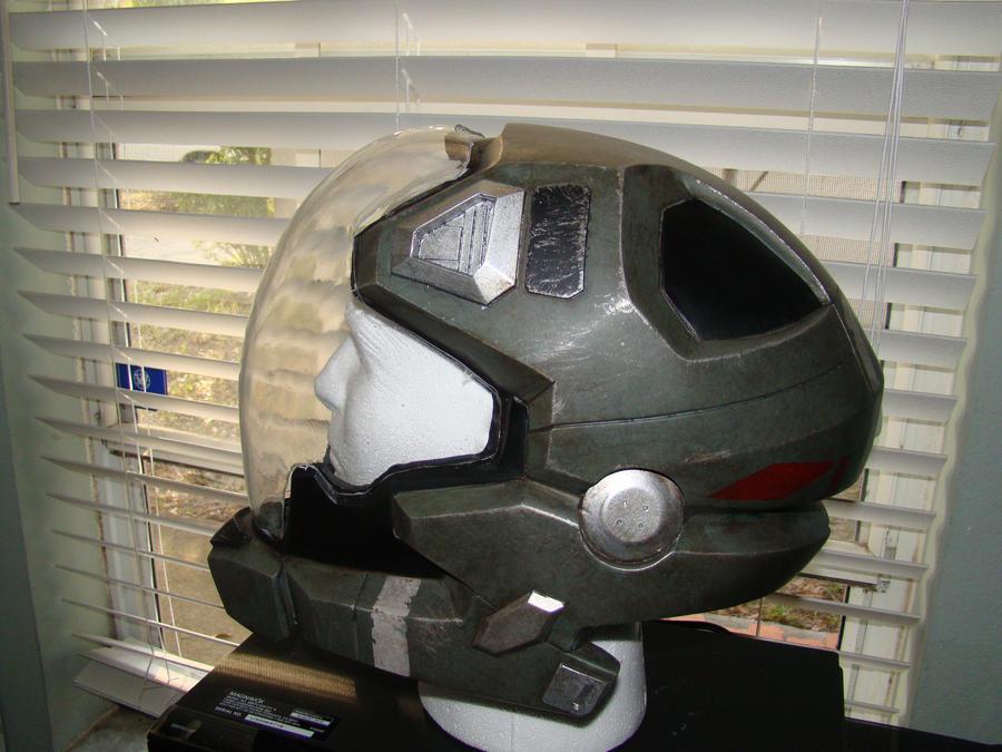 halo reach pilot helmet side by hyperballistik on deviantart