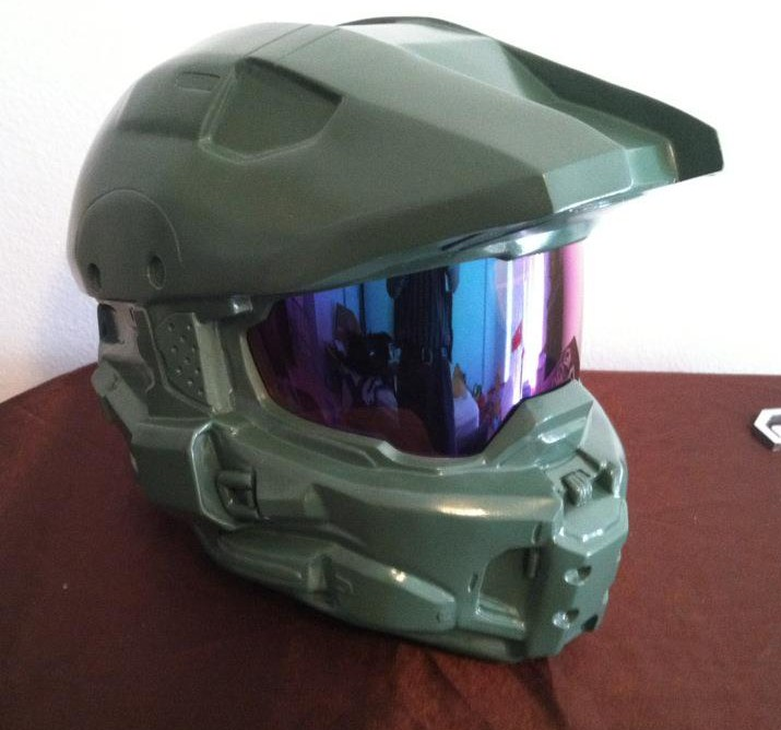 Halo 4 Master Chief Helmet WIP by Hyperballistik