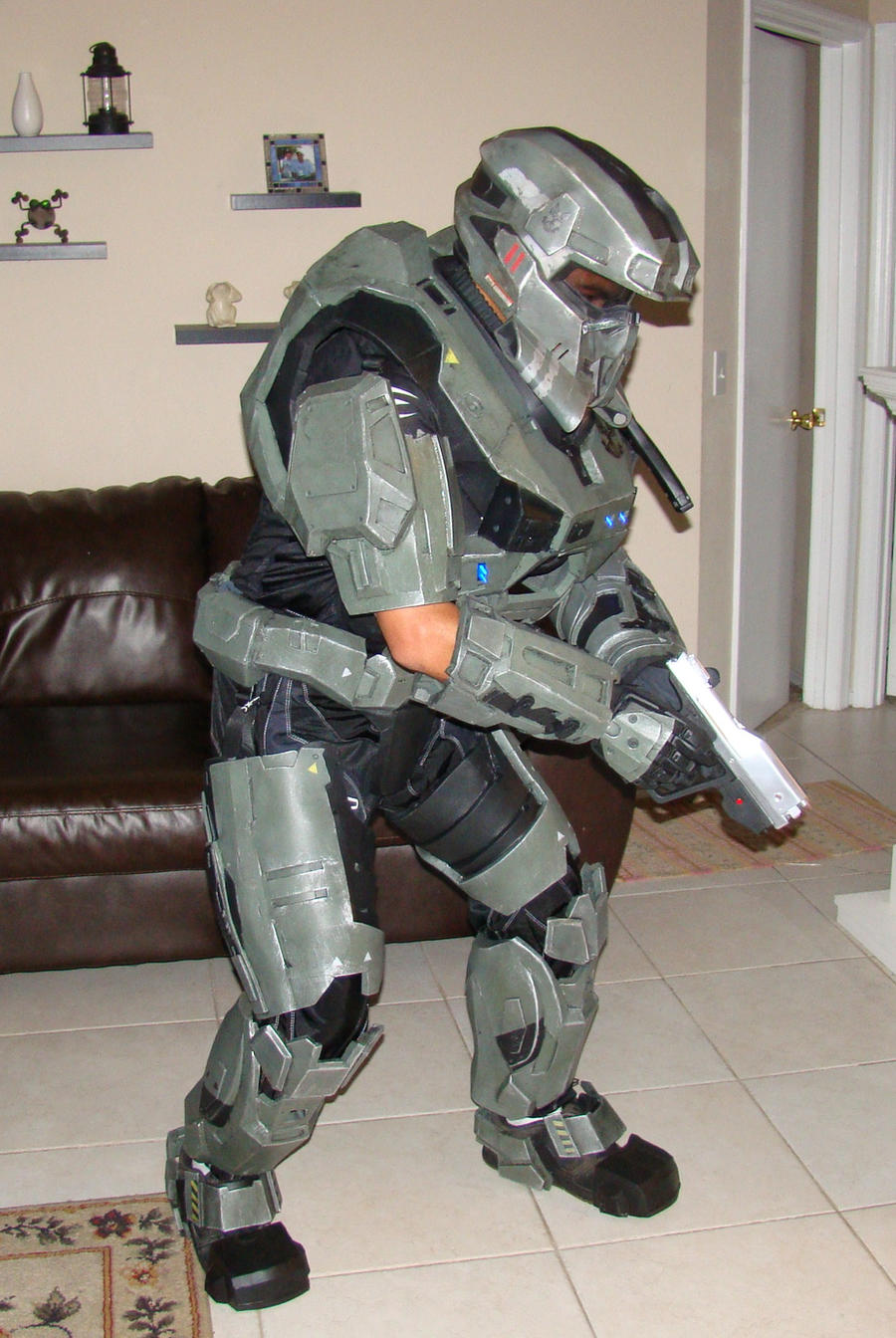 Halo Reach Foam Armor Build By Hyperballistik On Deviantart