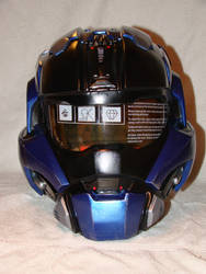 Halo Reach Carter Commando Helmet Front view finis