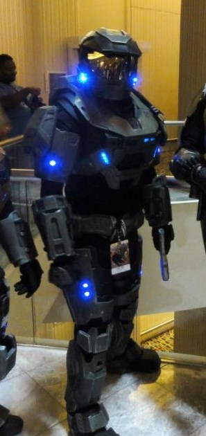 halo reach mkv suit now with lights by hyperballistik - Halo Reach Halloween Costume
