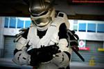 Halo Hayabusa Armor made from Eva Foam